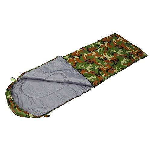 hhxiao Outdoor slaapzak Camo Envelope Type Slaapzak Ultralight Draagbaar Waterdicht Lichtgewicht Camping Stuff Wandelen Slapen Adult Camp Quilt