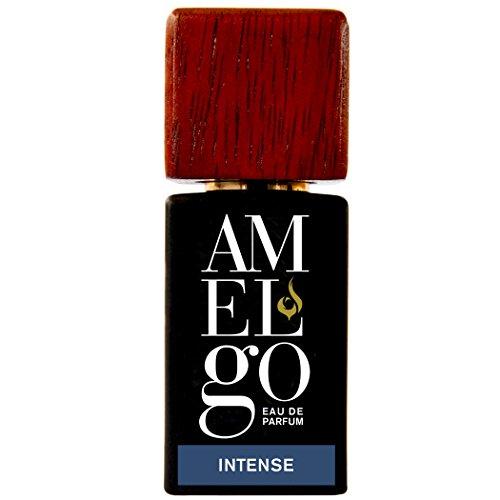 Parfüm für Männer Oud - Langer Qualitätsduft für Männer mit Noten von Oudh, Sandelholz und Weihrauch - Eau de Parfum für Männer Intense von Amelgo, 15ml