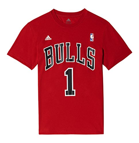 adidas Gametime Tee - Camiseta para hombre, color rojo / negro / blanco, talla XS