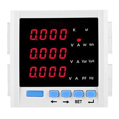 Cuadro Eléctrico, Medidor de Voltaje Digital con Caja de Medidor, para Sistemas de Energía Industrial y Minería