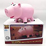 Cute Toy Story 4 Hamm Piggy Bank Pink Pig Coin Box Anime PVC Toy Story 4 Hamm Piggy Figura Muñeca Ni...