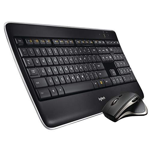 Logitech Wireless Performance Combo MX800, Backlit Keyboard, Wireless USB Mouse for PC