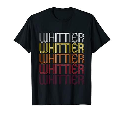 Whittier (, ca   Vintage Stil California T-Shirt