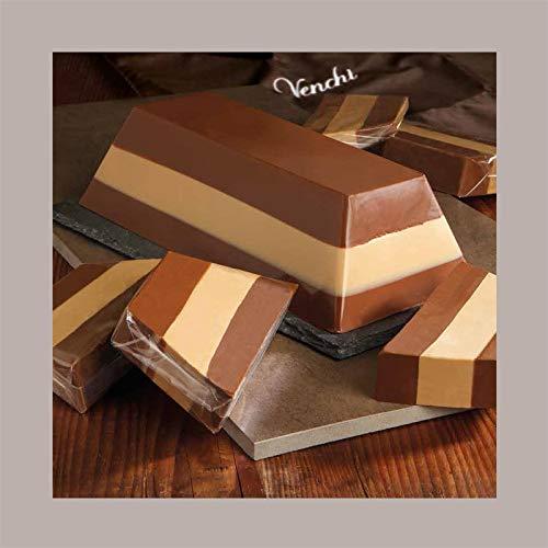 LUCGEL Srl (2 Kg) Blocco di Cioccolato da Taglio CREMINO VENCHI | Pasticceria Dolci