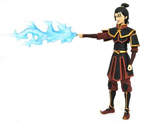 DIAMOND SELECT TOYS Avatar The Last Airbender: Firebender Azula figura de accion, multicolor
