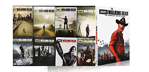 THE WALKING DEAD COMPLETE SEASONS 1-9 (41 DISC BUNDLED DVD SET)