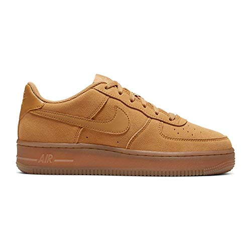 Nike - Zapatilla Nike Air Force 1 Lv8 3 (GS) - BQ5485 700 - Marrón, 38