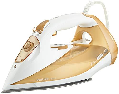 Philips Azur GC4549/00 Stoomstrijkijzer, 2500 W, 210 g stoomstoot, wit-beige