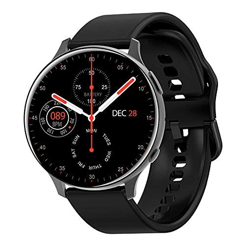 Yumanluo Smart Band Smart Watch,Reloj Inteligente con Llamada Bluetooth, Pulsera Deportiva con Control de la Salud-Negro a,Pulsera Inteligente con Pulsómetro