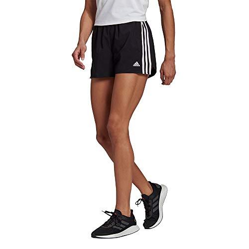 adidas W 3S WV SHO Pantaloncini, Black/White, S Donna