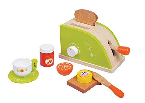 Lelin Toys - 31092 - Jeu D'Imitation - Cuisine - Grille Pain - Ensemble