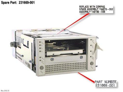 HP Inc. DRV,TAPE DLT,W/FAN, 231669-001