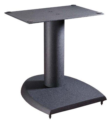 VTI Manufacturing DFC 13 in. H44; Iron Center Channel Speaker Stand - Black