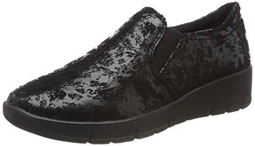 Jana 100% comfort Damen 8-8-24701-23 Slipper, Schwarz (Black 001), 40 EU