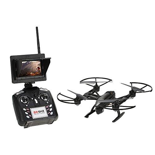 Rayline Drone QUADRICOTTERO Funtom 11 AG FPV Monitor 5.8 GHz.