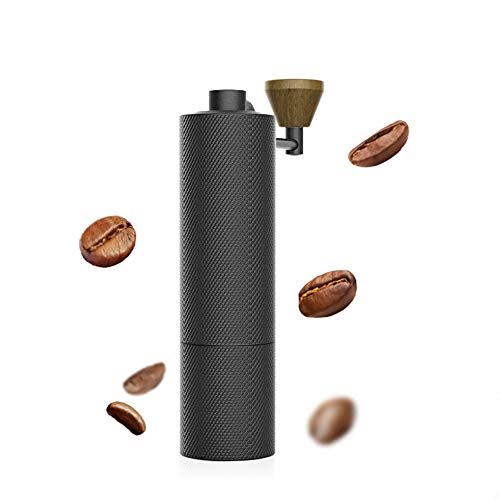 Great Price! SHUHAO Manual Coffee Grinder, Stainless Steel Adjustable Cone Burr Coffee Grinder is Po...
