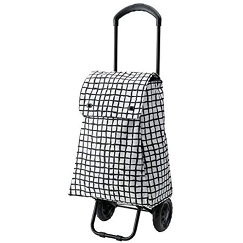 Hand Car Multifunction Folding Shopping Cart Stainless Steel Portable Shopping Cart Silent Luggage Trolley Car