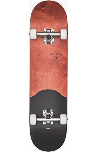 Globe Skateboards G1Argo Street komplett Skateboard, Rot Ahorn/schwarz