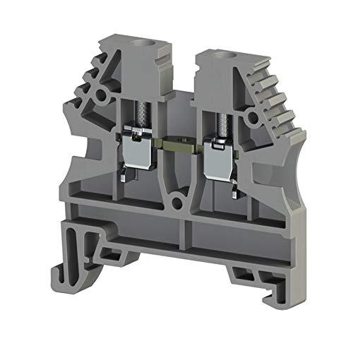 Reihenklemme Serie AVK 2,5 -- grau Schraubanschluss Durchgangsklemme