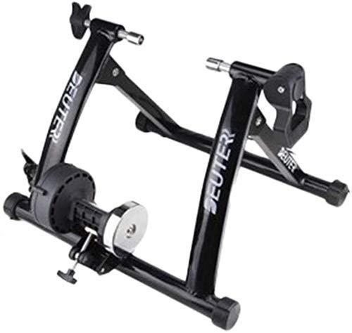 XYLUCKY Fitness justierbarer Fahrrad-Turbo Trainer - Verwenden Sie Ihr Fahrrad als Heimtrainer - Schwarz