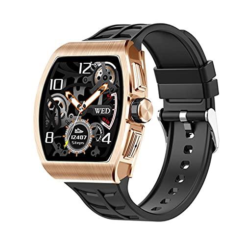 WWKDM1 Reloj Inteligente Mujeres Hombres Android iOS Bluetooth Reloj de Llamadas Rastreador de Ejercicios Monitor de presión Arterial de frecuencia cardíaca Reloj Inteligente 2021
