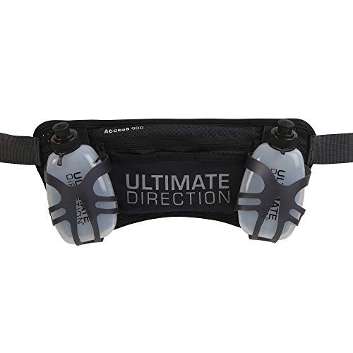 Ultimate Direction Access 600 Hydration Running Belt, Access 600(Onyx), 600 ml