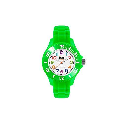 Ice-Watch - Ice Mini Green - Orologio da Bambini con Cinturino in Silicone...
