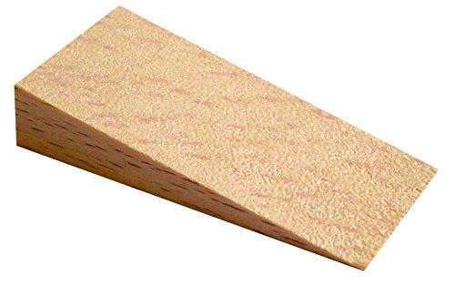 HSI Muebles cuñas en Red, haya natural, 50x 24x 10mm, 25unidades, 497860.0