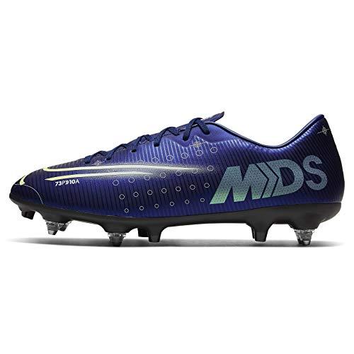 Nike Vapor 13 Academy MDS SG-Pro AC, Botas de fútbol Hombre, Blue...
