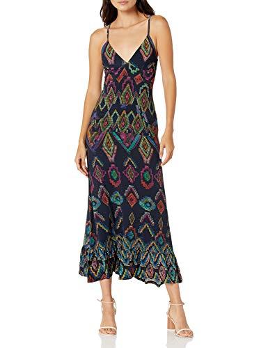Desigual Damen Vest_Pepper's Kleid, Blau (Navy 5000), X-Large (Herstellergröße:XL)