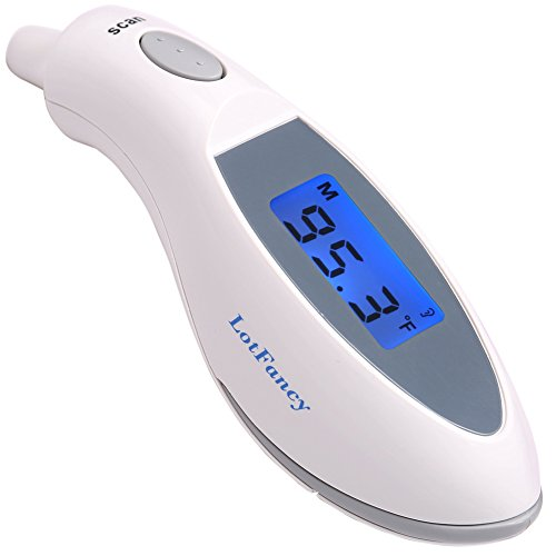 Cheap Ear Thermometer for Kids Adults Baby - LotFancy Digital Thermometer, Quick Read, Medical Grade...
