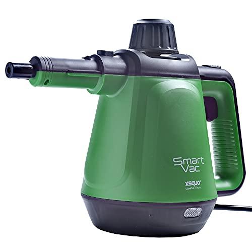 Vaporizzatore ad alta pressione con 6 funzioni design 2 in 1 per mani e pavimento, 1200 W, 3,5 bar e 40 g/min di vapore continuo. Smart Vac
