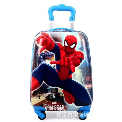Las Maletas De Los Alumnos 16 Pulgadas Spider-Man Doble Varilla