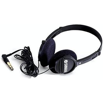 Yamaha RH1C Portable Headphones, Black