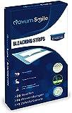 Novum Smile White Stripes - Teeth Whitening Strips - Bleaching für weiße Zähne - 28 Stück