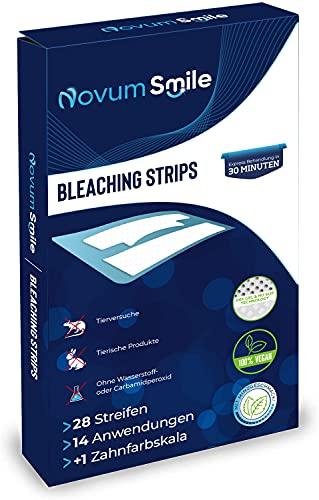 Novum Smile/Teeth Whitening Strips für weisse Zähne/White Strips rutschfest