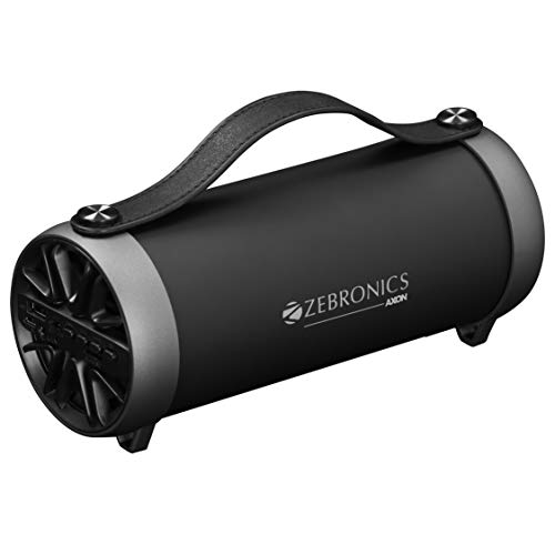 Zebronics Portable Bluetooth Speaker with AUX Function, USB Support, Micro SD Card...
