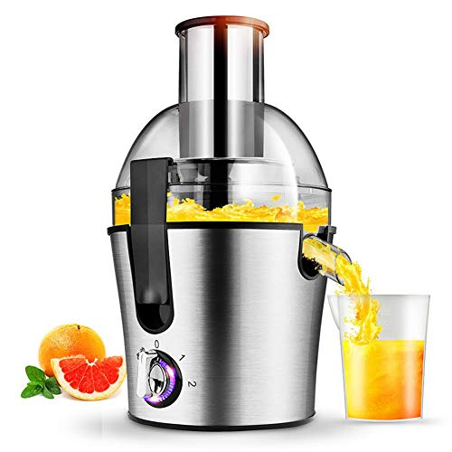 Multifunctional Juicer, Automatic Fruit and Vegetable Juice Separator, Stainless Steel Mixer, Household Kitchen Utensils, Best Gift for Mothers Day