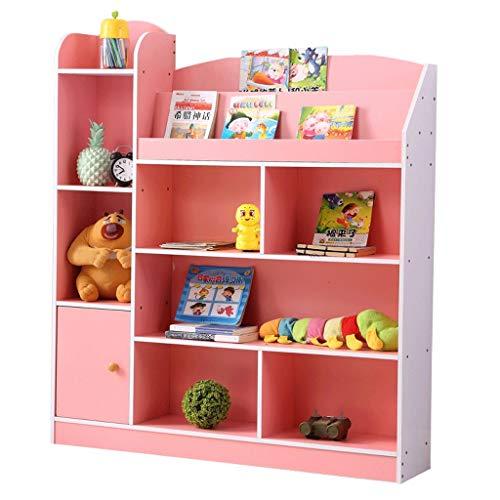 FABAX Bücherregal Bücherregal Boden Kinderbilderbuch Haushaltskinder Einfache Bücherregale Kabinett Grundschule Bücherregal mit...
