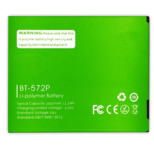 Bateria Compatible con LEAGOO M8 / M8 Pro (BT-572P) | Capacidad: 3500mAh
