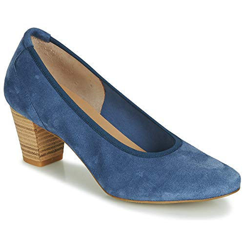 Perlato Poleradui Pumps Damen Blau - 41 - Pumps Shoes