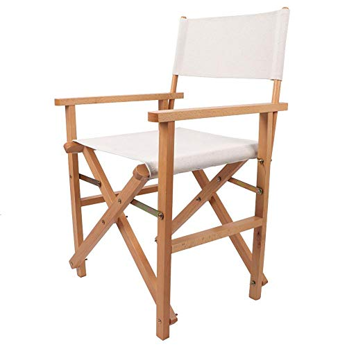 Klappstuhl, Durable Folding Holz Camping Hocker Mini Portable Outdoor Camping Stuhl Faltbare Leinwand Skizze Zeichnung Stuhl mit dreieckigem Design
