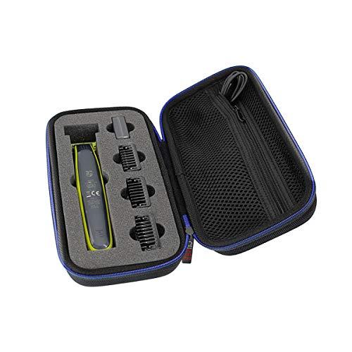 Hart Reise Schutz Tasche Case für Philips OneBlade Face QP2530/30 QP2520/30 QP2620/25 Philips Tasche Hülle Etui von GUBEE
