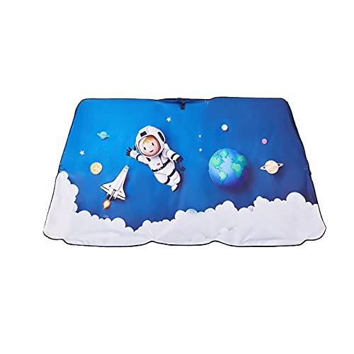 Parasol para Parabrisas - Bloquea Los Rayos Ultravioleta Protector De Visera para El Sol Parasol De Dibujos Animados para Mantener Su VehíCulo Fresco Y Libre De DañOs