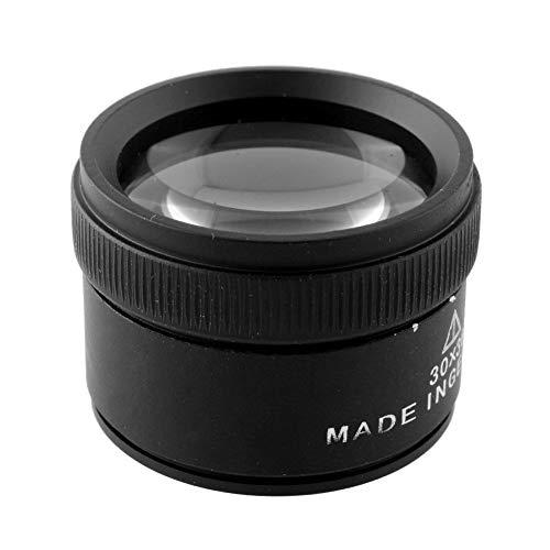 30X Portable Handheld Magnifier Optics Lens Loupes...