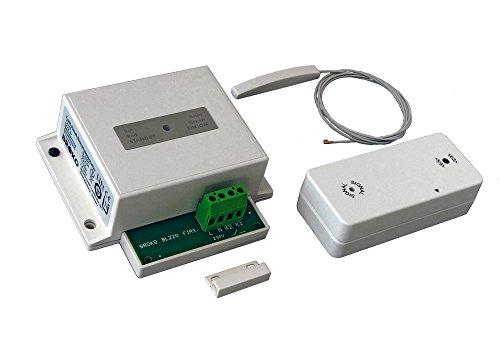 Funk - Abluft - Sicherheitsschalter BL220Fi für den Einbau / Funk Sicherheits Abluftsteuerung DIBt geprüft / Fensterschalter Wireless / Fensterkontaktschalter / BROKO