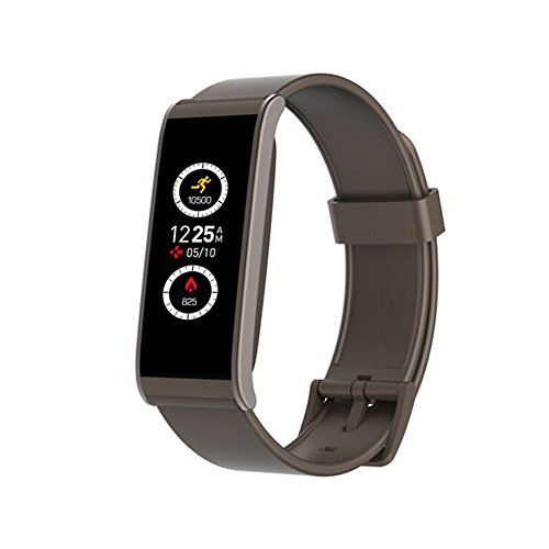 MyKronoz Smartwatch Zefit 4HR mit Sensor Herzfrequenz braun