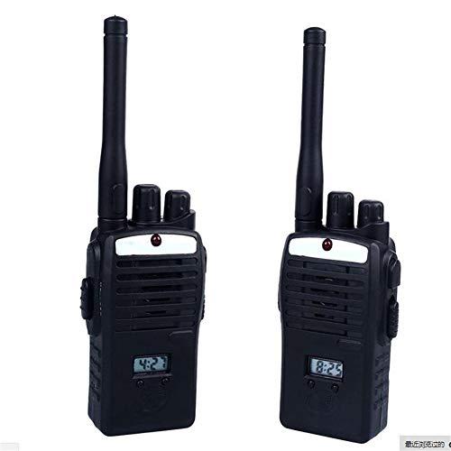 LLVV Equipos Transmisores-Receptores 50 M De Distancia Wireless Walkie Talkie Kid Niños Set Niños Juguetes Electrónicos Portátiles 2PCS