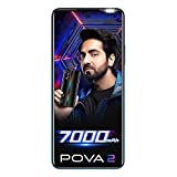 7000mAh Segment First Super Big Battery 46 Days Long Standby 48MP+2MP+2MP+AI Lens Quad Rear Camera Super Night View Helio G85 Gaming Processor Octa-Core ET Engine 6.95-inch17.65cms FHD+Dot-in Display 180Hz Touch Response Rate 18W Dual IC Type C Charg...
