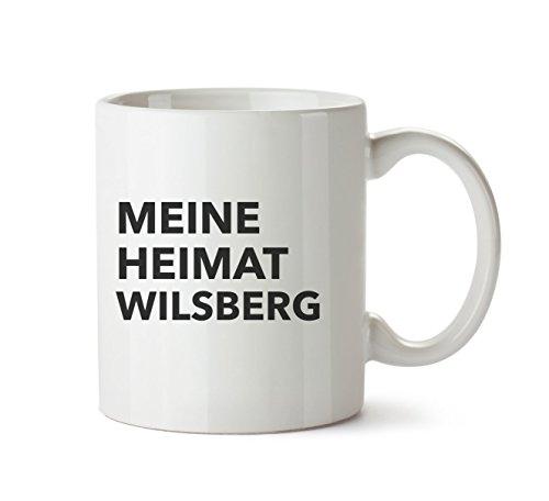 Mr. & Mrs. Panda Tasse Stadt Wilsberg Text - Spruch Geschenk Geschenkidee Schenken Tasse Tassen Becher Kaffeetasse Kaffee, Fan, Fanartikel, Souvenir, Andenken, Fanclub, Stadt, Mitbringsel
